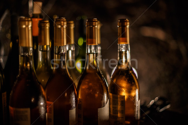 Wine bottles Stock photo © grafvision
