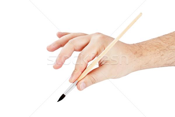 Brush to paint Stock photo © grafvision