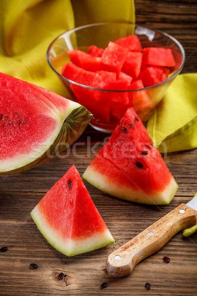 Ripe watermelons Stock photo © grafvision
