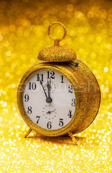 Vintage alarm clock Stock photo © grafvision