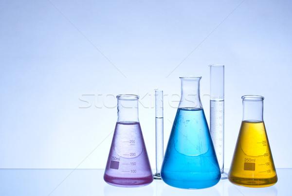 laboratory glassware Stock photo © grafvision