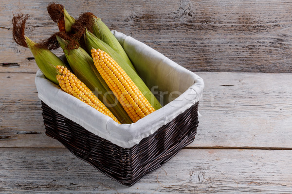 Sweet corn Stock photo © grafvision