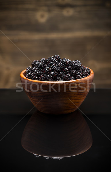 Fresh blackberries Stock photo © grafvision