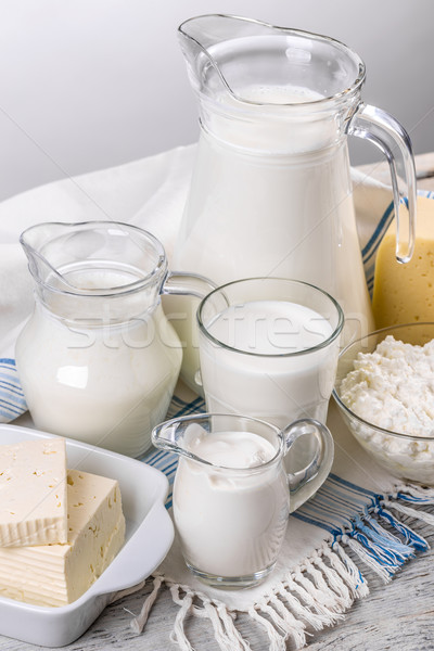 Various dairy products Stock photo © grafvision
