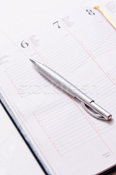 Diariamente branco escritório papel livro Foto stock © grafvision