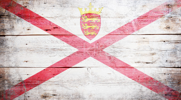 Flag of Jersey Stock photo © grafvision