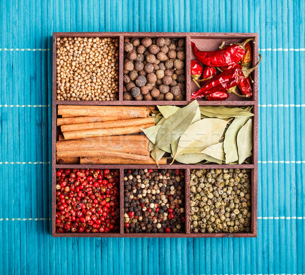 Spices Stock photo © grafvision