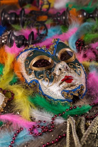 Carnival mask Stock photo © grafvision