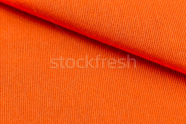 Orange weave material Stock photo © grafvision