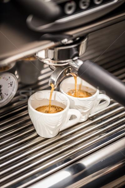 эспрессо машина кофе белый Сток-фото © grafvision