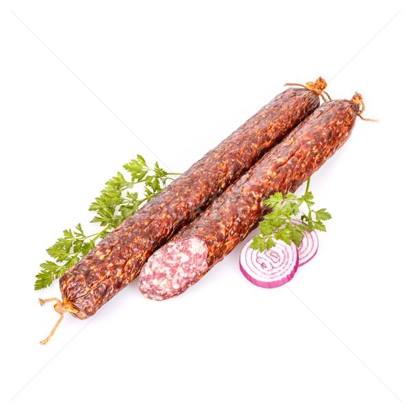 Salami sticks  Stock photo © grafvision
