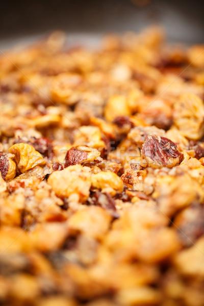 Pelé fruits Noël noix Photo stock © grafvision