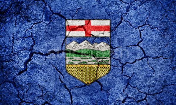 Alberta, province of Canada, flag Stock photo © grafvision