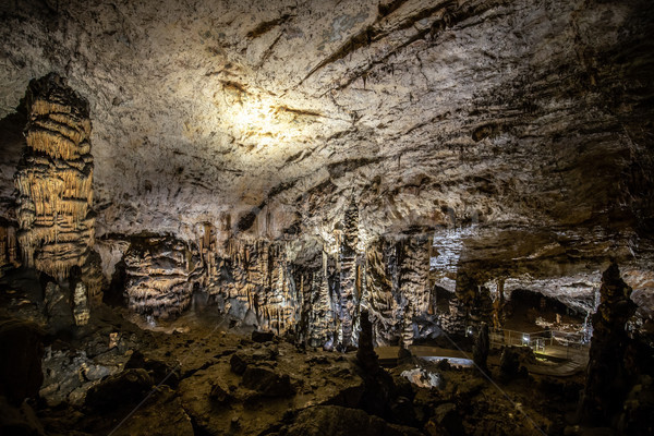 Stalactite and stalagmite Stock photo © grafvision