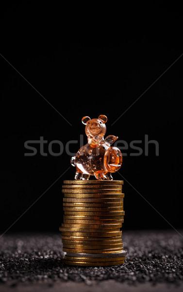 Bitcoin saving concept Stock photo © grafvision