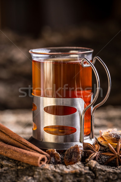 Glass of turkish tea  Stock photo © grafvision