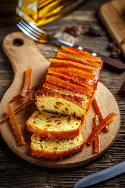Delicious fruit cake  Stock photo © grafvision