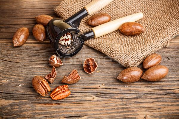 Pecan nuts  Stock photo © grafvision