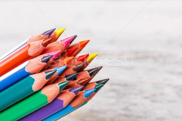 Color pencils  Stock photo © grafvision