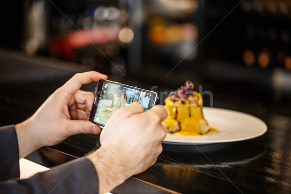 şef oluşturma gıda akşam yemeği fotoğraf Stok fotoğraf © grafvision
