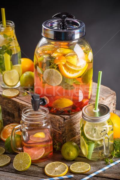 Refreshing summer drink  Stock photo © grafvision
