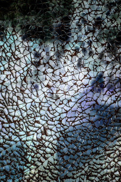 Broken glass texture Stock photo © grafvision