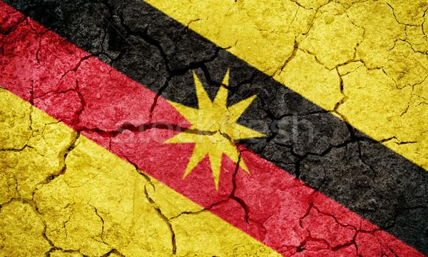 Sarawak, state of Malaysia, flag Stock photo © grafvision