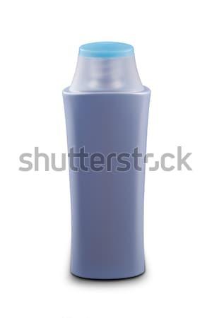 Shampoo bottiglia isolato bianco sfondo spa Foto d'archivio © grafvision