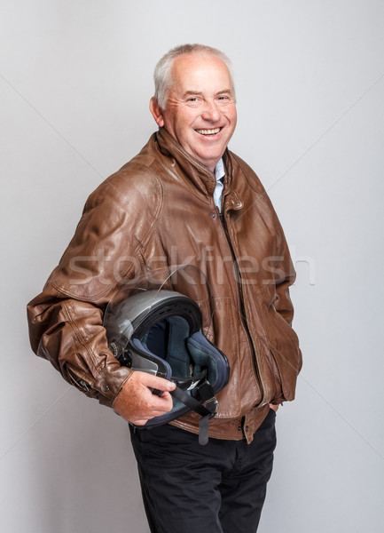 Senior bicker Stock photo © grafvision