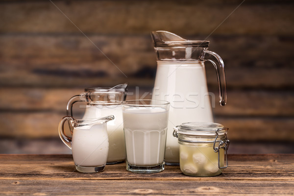 Dairy products Stock photo © grafvision