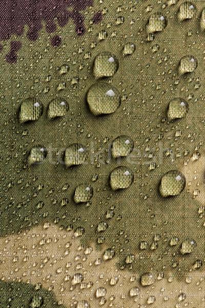 à prova d'água têxtil tecido chuva gotas água Foto stock © grafvision
