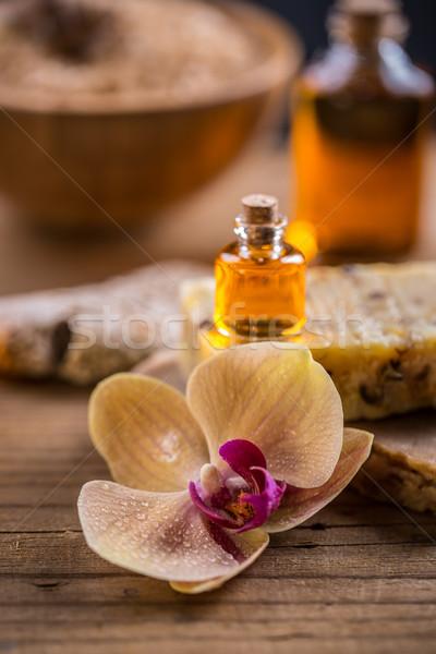 Spa essential oil  Stock photo © grafvision