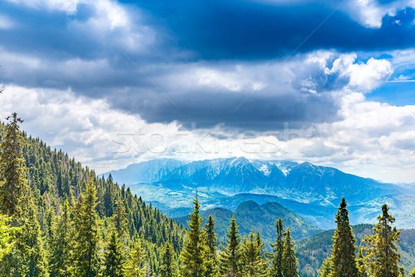 Bucegi mountains range Stock photo © grafvision