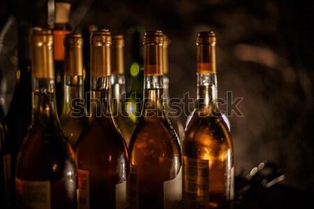 Set of Wine bottles Stock photo © grafvision