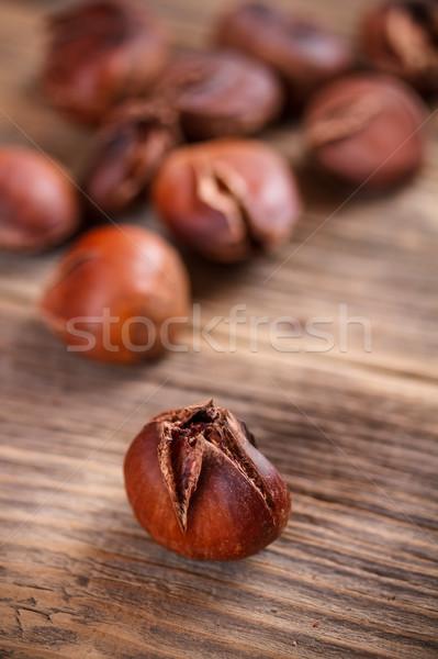 Ehető étel ősz édes dió vág Stock fotó © grafvision