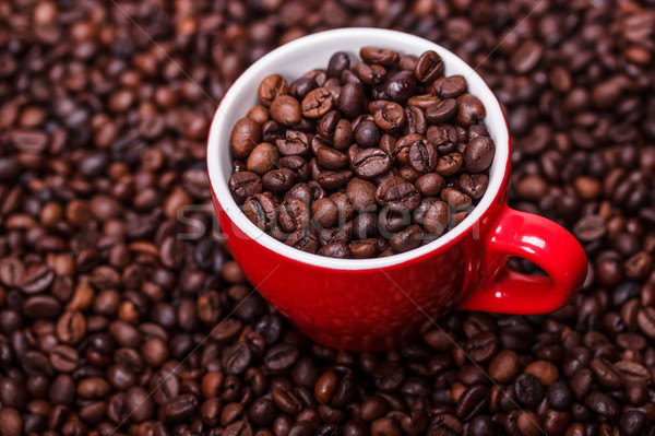 Кубок чашку кофе кофе полный кофе семени Сток-фото © grafvision