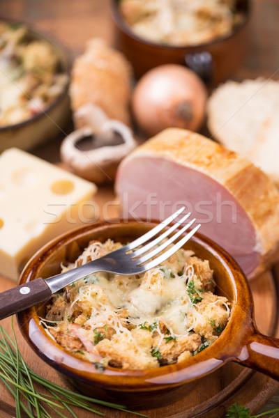 Bread souffle Stock photo © grafvision