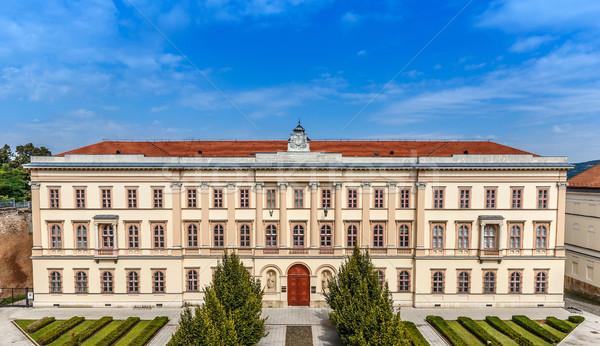 Bogaty architektury Węgry budynku miasta kamień Zdjęcia stock © grafvision