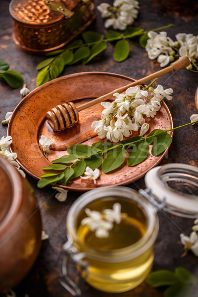 Honey concept Stock photo © grafvision