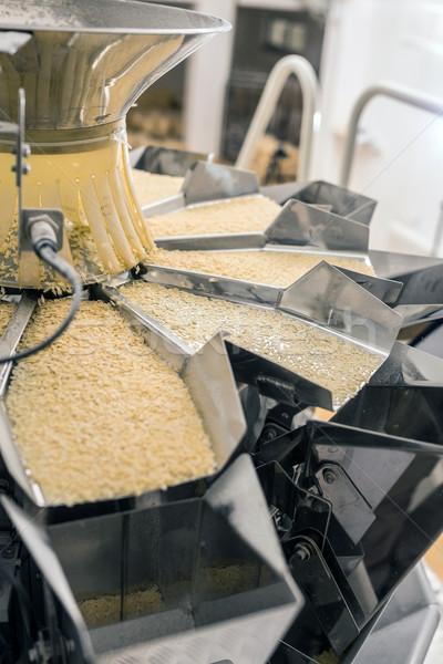Macarrão fabrico produção linha negócio escritório Foto stock © grafvision