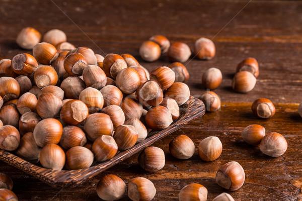 古い 木製 食品 木材 自然 ストックフォト © grafvision