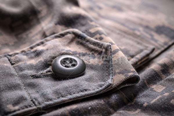 Póló álca minta közelkép lövés félelem Stock fotó © grafvision