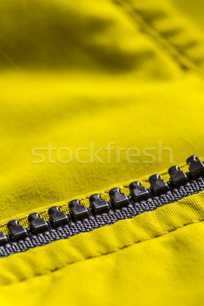 Zipper on the jacket Stock photo © grafvision