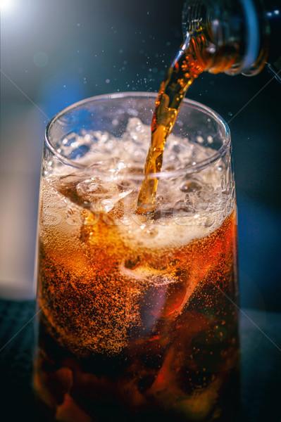 Barman coquetel especialista boate festa Foto stock © grafvision