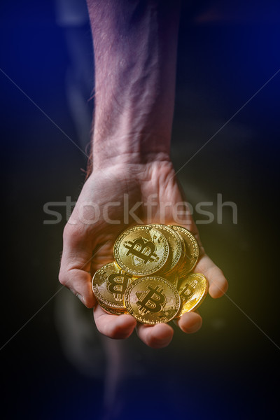 Cryptocurrency investment concept. Stock photo © grafvision