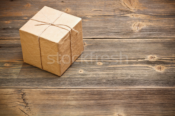 Wrapped packaged box Stock photo © grafvision