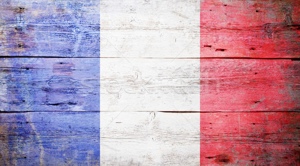 Flag of France Stock photo © grafvision