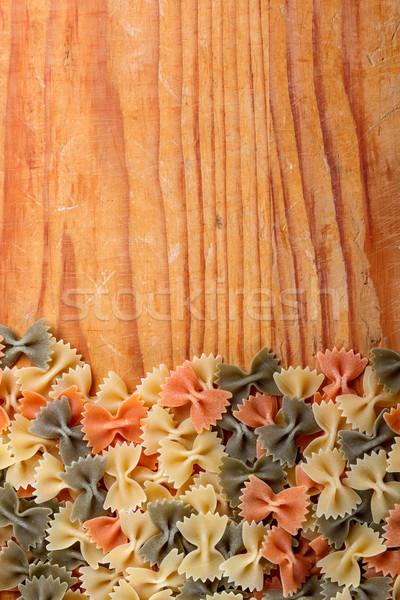Fresh italian pasta Stock photo © grafvision