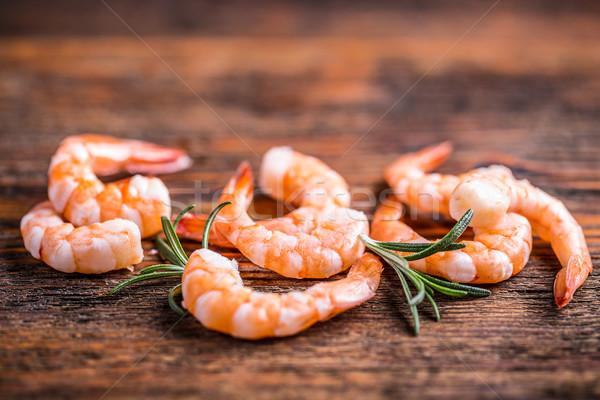 Shrimps or prawns Stock photo © grafvision