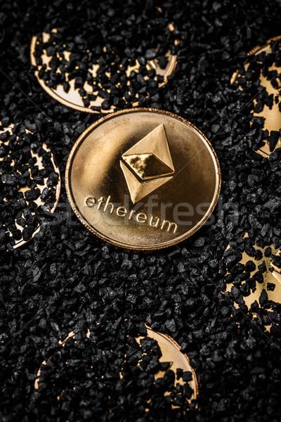 Golden coins Stock photo © grafvision
